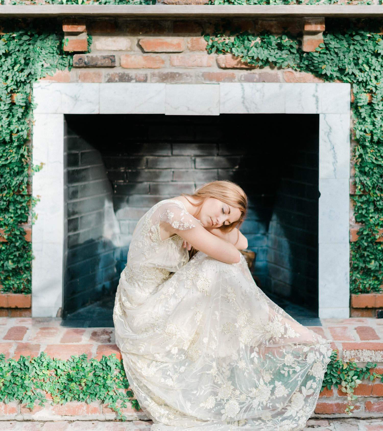 bride getting ready lc la photo